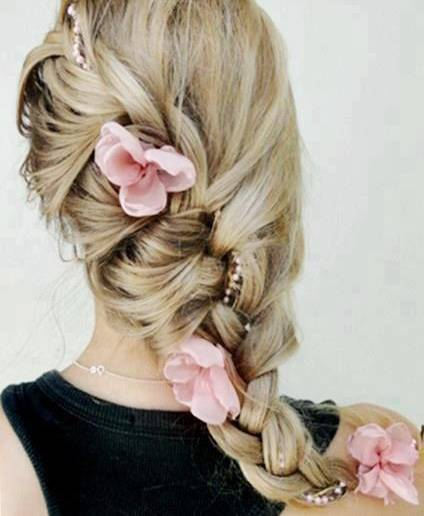 вечерние прически средние волосы
