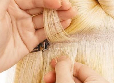 наращивание волос своими руками