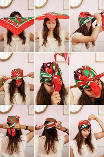 платок на голову солоха