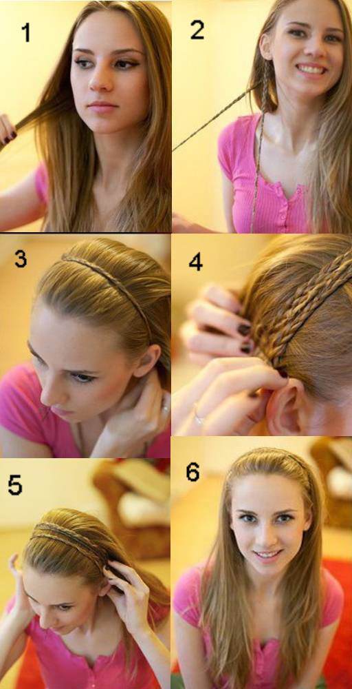 прически самой себе на длинные волосы