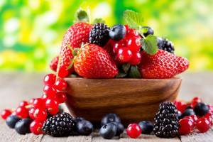 ягоды для волос