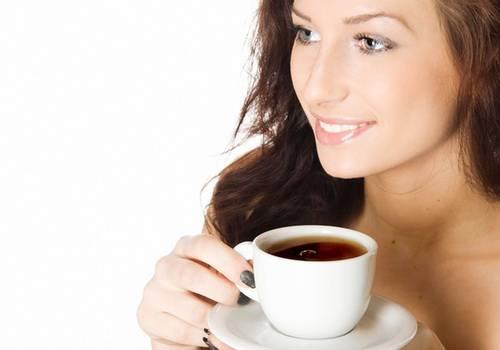 окрашивание волос чаем