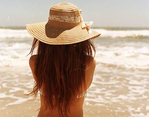 волосы летом уход