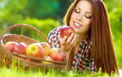 ежедневная маска для волос с яблочным уксусом