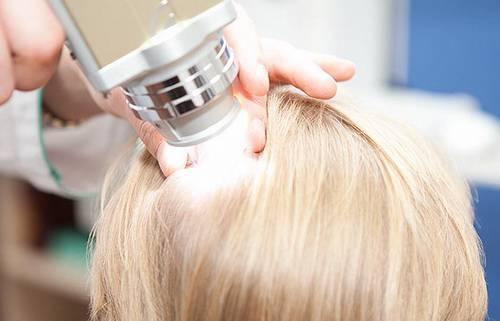 рост новых волос на голове