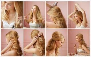 красивые простые прически на длинные волосы
