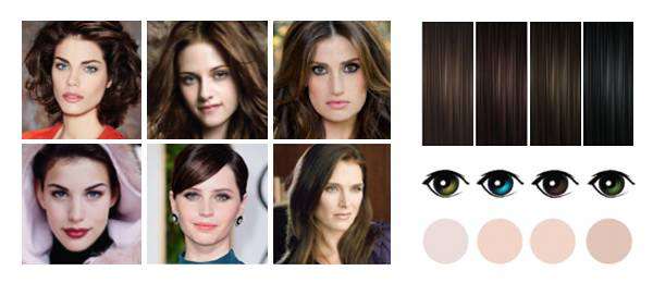 светло карие глаза какой цвет волос подойдет