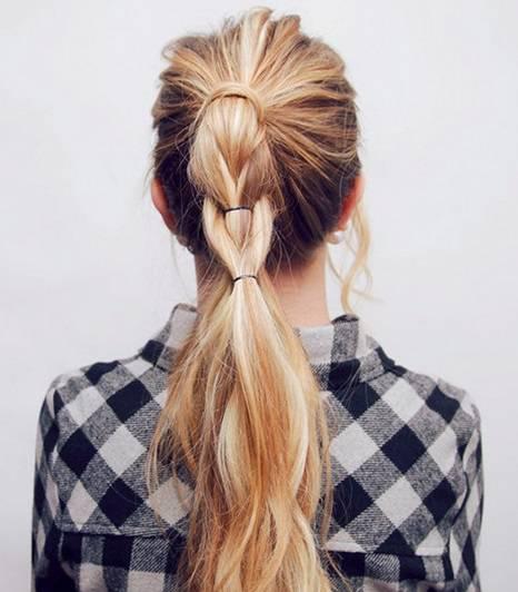 прическа на длинные волосы фото пошагово