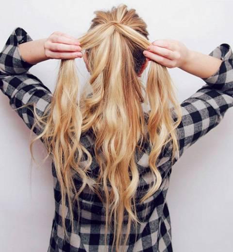 прическа коса самостоятельно
