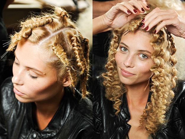 Лучшая завивка для волос – безопасная завивка. Способы домашней завивки волос