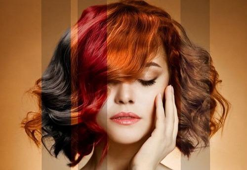 В какой цвет покрасить волосы? Психология цвета