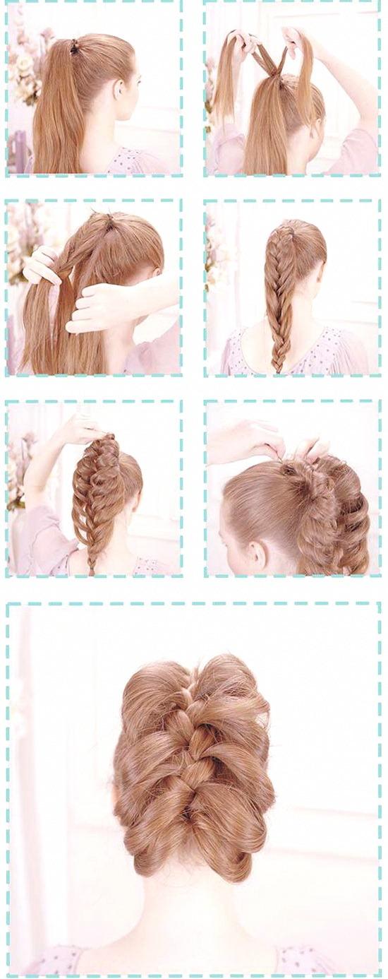 прически косы на длинные волосы фото
