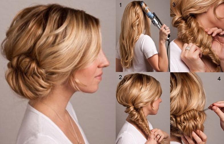 10 причесок на длинные волосы самой себе: фото поэтапно