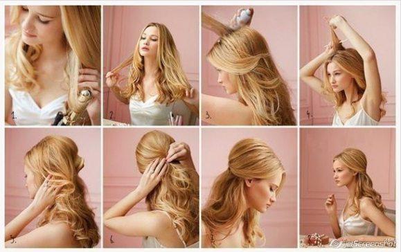Красивые простые прически на длинные волосы на каждый день