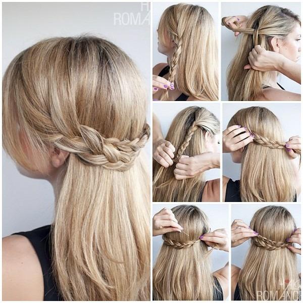 Прически с косами: как заплести саму себя красиво