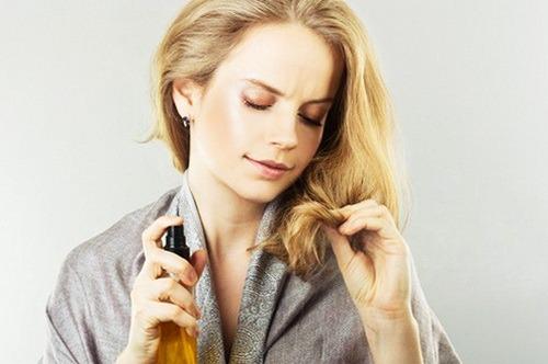 Сухие кончики волос: правильный уход