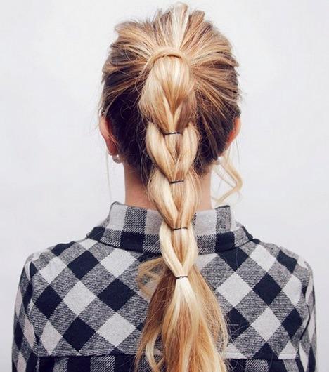 прическа своими руками на длинные волосы
