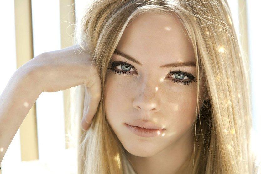 цвет волос для серо-зеленых глаз