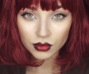 Красивый цвет волос для зеленых глаз