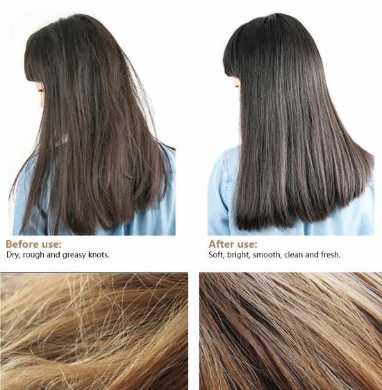 глубокое кондиционирование обертывание волос