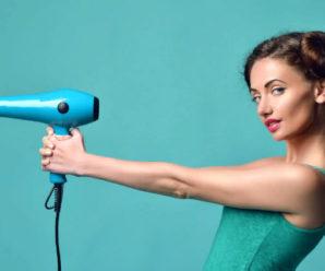 Как безопасно сушить волосы феном каждый день